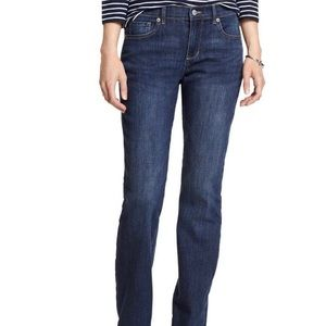 Banana Republic Blue Wash Straight Leg Jeans